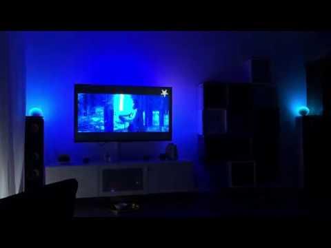 Philips Hue Sync und Hue Entertainment im Video