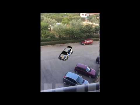 Parking a car on iPhone, with iOS 11 AR Kit