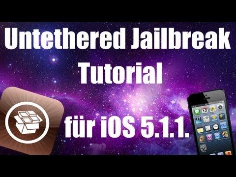 Untethered Jailbreak iOS 5.1.1 Tutorial