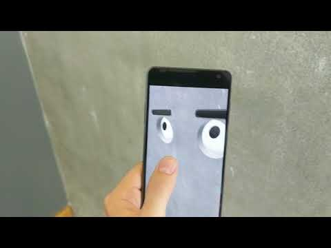 AR Experiments: Wall Face
