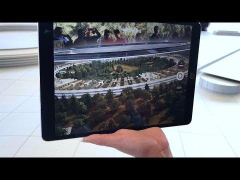 Apple Park AR demonstration