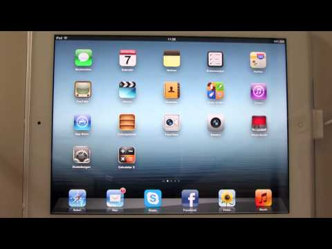 OS X 10.8 Notification Center für das iPad - MountainLionCenter for iPad (Cydia Tweak)