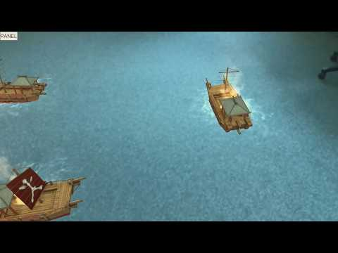 Naval battle using new Apple iOS ARKit - Immersion AR Labs