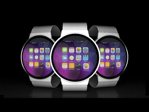 iWatch With iHealth - 3D concept video
