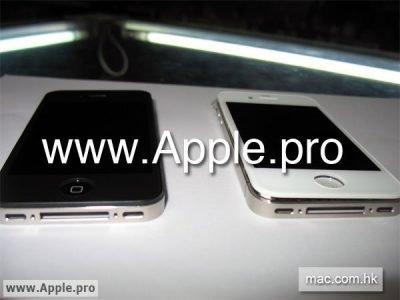 iPhone 4G / iPhone HD in weiß - Neue Bilder des weißen iPhone 4G