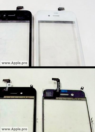 iPhone 4G / iPhone HD in weiß – weiße iPhone 4G Oberschale
