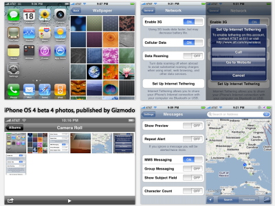 iPhone OS 4.0 beta 4 released (via gizmodo)