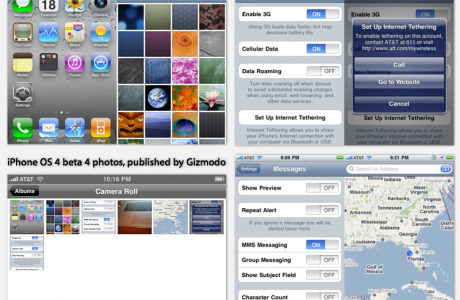 iPhone OS 4.0 beta 4 released (via gizmodo)