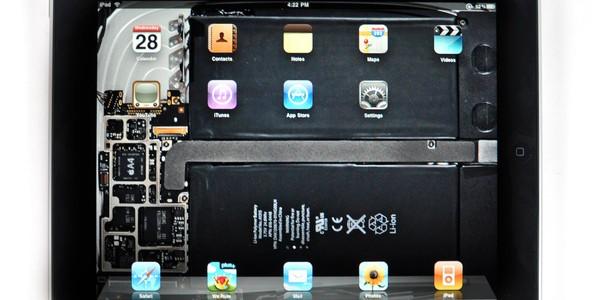 iFixit Apple iPad Wallpaper - iPad Innenleben als Hintergrundbild