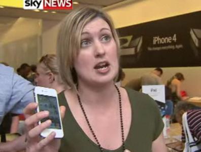 Gibt es doch schon das weiße iPhone 4 - iPhone 4 in weiß im Londoner Apple Store gesichtet. 40
