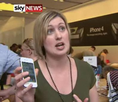 Gibt es doch schon das weiße iPhone 4 - iPhone 4 in weiß im Londoner Apple Store gesichtet. 20