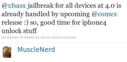 Neuer iOS4 Jailbreak für iPhone 4, iPhone 3GS (neues Bootrom) bald verfügbar 11