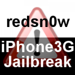 iOS 4.0.2 Jailbreak & Unlock auf iPhone 3G mit redsn0w