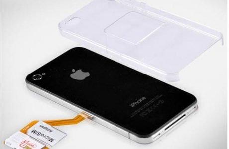 Dual SIM Adapter für iPhone 4 - zwei SIM Karten in einem iPhone 4