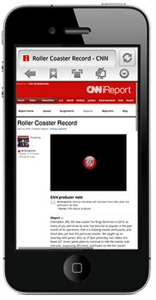 Sieht so der Skyfire Browser mit Flash Support auf dem iPhone aus?