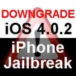 iPhone 4 & 3GS Anleitung Downgrade iOS 4.0.2 nach iOS 4.0.1 / iOS 3.1.3