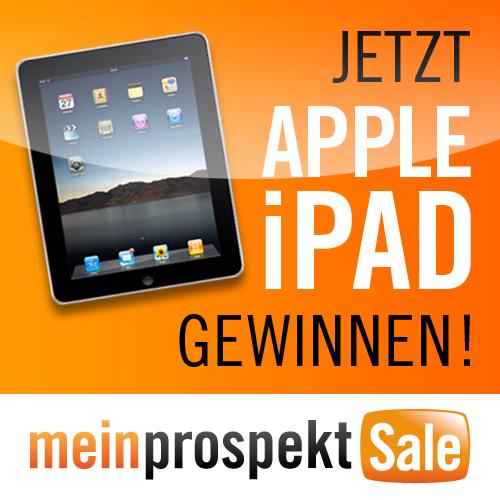 meinprospekt verlost 2x ipad 3g 64gb. Black Bedroom Furniture Sets. Home Design Ideas