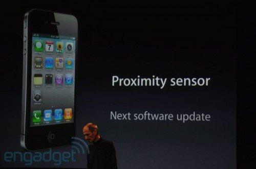 iOS 4.1 ohne Bugfix für Annäherungs-Sensor im iPhone 4