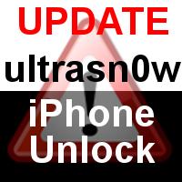 iPhone 4 Unlock ultrasn0w 1.1-1 Update zum Download