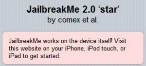 JailbreakMe - iOS 4 Jailbreak für iPhone 4, iPhone 3GS, iPhone 3G & iPad von comex