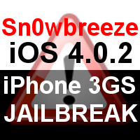 iOS 4.0.2 iPhone 3GS Jailbreak mit Sn0wbreeze 2.0
