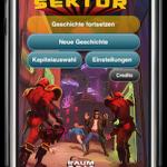 kostenlose Hörspiel App für iPhone, iPad, iPod : Raumzeit 1 - Der verbotene Sektor