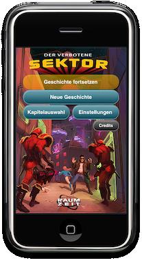 Hörspiel App für iPhone, iPad, iPod : Raumzeit 1 - Der verbotene Sektor