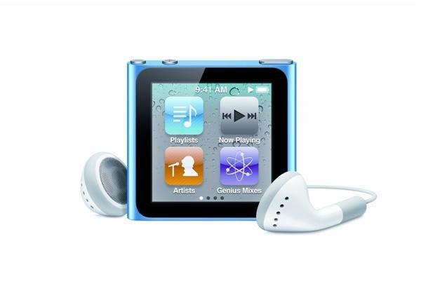 Neuer iPod nano mit Touchscreen