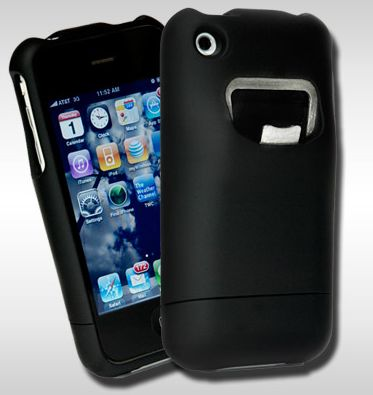Hülle für iPhone 3GS & iPhone 3G (bald iPhone 4) mit Flaschenöffner