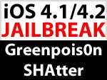 iOS 4.1 Jailbreak für iPhone 3GS / iPod touch 3G von Comex ios jailbreak greenpois0n shatter