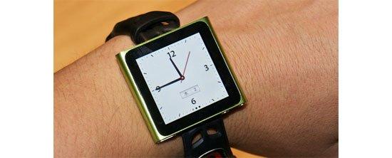 Neuer iPod nano als Armbanduhr? Oder doch lieber ne Rolex?