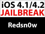 Jailbreak iOS 4.1 / iOS 4.2 für iPhone 3G und iPod touch 2G mit Redsn0w