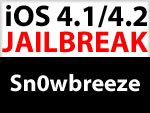 Download Sn0wbreeze 2.1 Custom Firmware & iOS 4.1 Jailbreak für Windows dauert noch