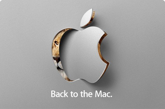 "Apple Special Event ""Back to the Mac"" mit Mac OS X 10.7 Lion?"