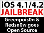 Greenpois0n & Redsn0w iOS 4.1 Jailbreak Tools bald Open Source