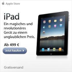 Kostenlose Gravur für Apple iPad 3G & iPad Wifi im Apple Store