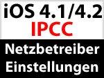 IPCC Netzbetreiber Einstellungen für O2 und vodafone