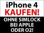ENDLICH! iPhone 4 ohne Vertrag / SIMLock direkt bei Apple & O2 kaufen !