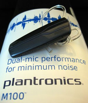 Plantronics M100 Bluetooth Headset für iPhone im Test