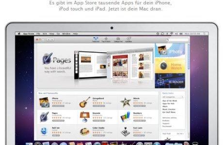 Mac App Store - Apps auf dem iMac, Macbook