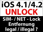 iPhone Unlock legal oder illegal?