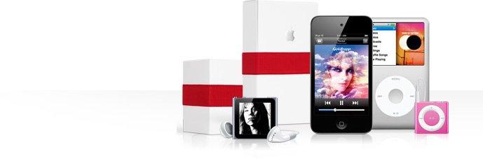 iPhone 4, iPods, iPod touch & iPads als Weihnachtsgeschenk in Geschenkverpackung inkl. Gravur