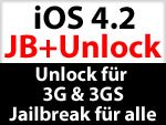 iPhone 3G & 3GS Unlock kommt, iOS 4.2 Jailbreak für ALLE & iPhone 4 Unlock verspätet