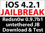 Download Redsn0w 0.9.7 b1 für Mac : untethered iOS 4.2.1 Jailbreak Test hat begonnen