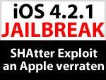 Kein Jailbreak mit SHAtter auf iPhone 4, iPad, iPod touch 4G - hat musclenerd SHAtter verraten?