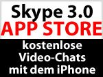 Skype 3.0: Update bringt kostenlose Video Chats auf iPhone 4, 3GS, iPod touch & iPad