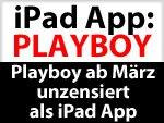 Playboy App fürs iPad - mit Nacktbildern & ohne Zensur