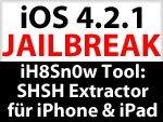 iH8Sn0w: SHSH Extractor zum Speichern des SHSH Blobs der installierten iOS Version