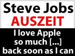 Steve Jobs nimmt aus gesundheitlichen Gründen Auszeit