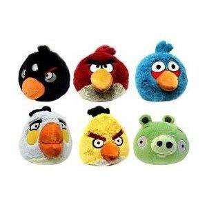 Angry Birds Kuscheltiere für echte Fans!
